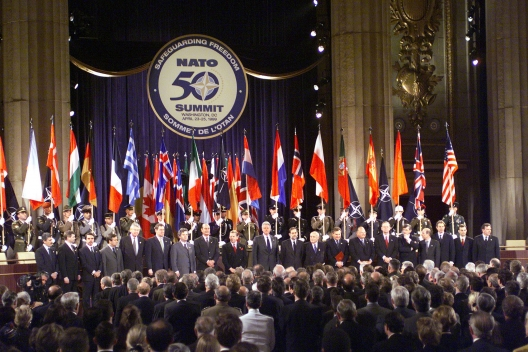 New members welcomed at 1999 NATO Summit