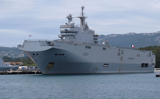 French warship Mistral