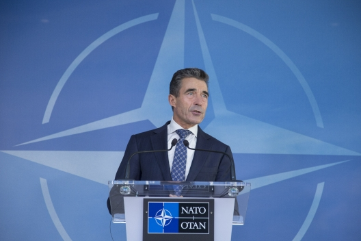 NATO Secretary General Anders Fogh Rasmussen, Oct. 22, 2013