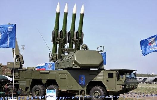 Buk-M2E missile system