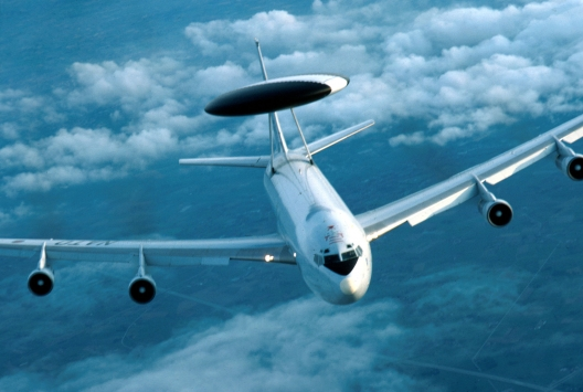 NATO AWACS Provide Security Support for Nuclear Security Summit in The Hague
