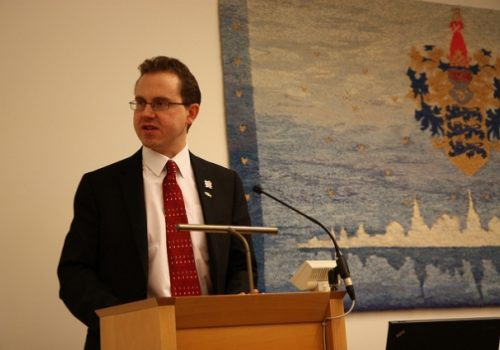 UK Ambassador to Estonia Chris Holtby