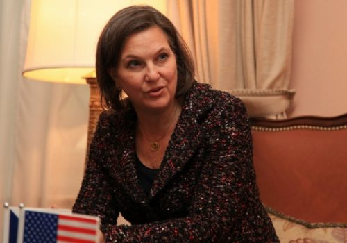 Assistant Secretary of State Victoria Nuland in Prague, Feb. 4, 2014