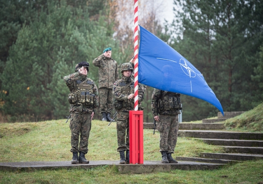 Opening ceremony for Steadfast Jazz Exercise