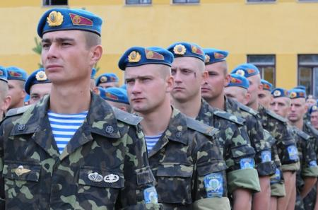 Ukrainian soldiers participating in Rapid Trident 2012