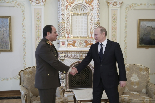 Sisi and Russia: No Replacement for the United States