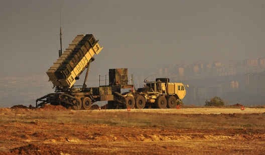 US Patriot missile battery in Turkey, February 4, 2013