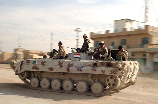 On the Failures of the Iraqi and Ukrainian Armies