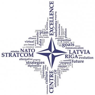 NATO Strategic Communications Center of Excellence logo