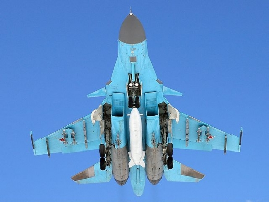 Russian Su-27 fighter jet, March 27, 2009