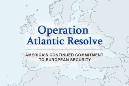 Operation Atlantic Resolve is a series of actions designed to reassure NATO allies and partners