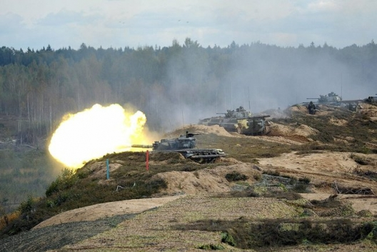 Russian-Belarusian strategic military exercise ZAPAD 2013