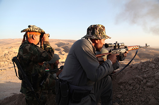 To confront ISIS, get arms and emergency help to Iraq's Kurds