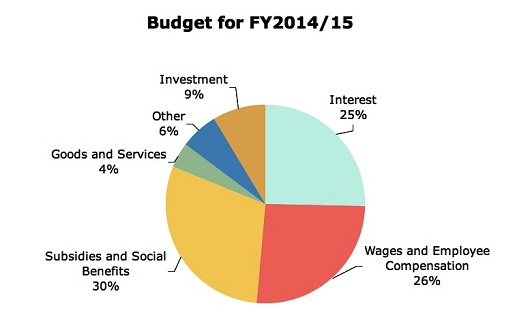 Budget for 2014-15