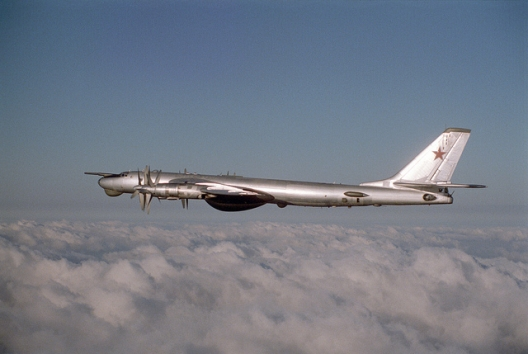 Russian Tu-95 Bear bomber