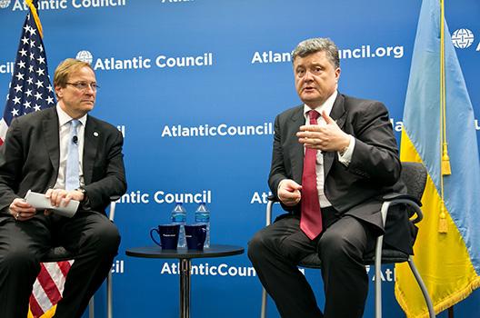Poroshenko: Ukraine Needs Arms 'to Win the Peace'