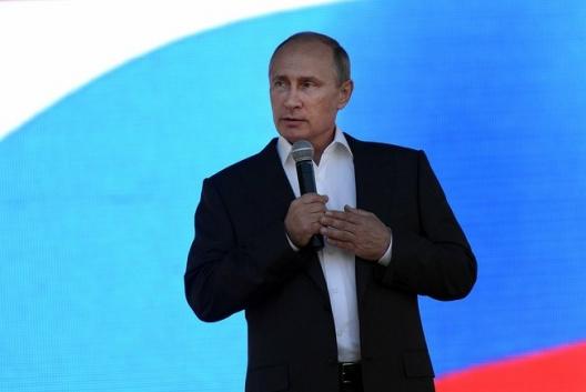 Russian President Vladimir Putin, Sept. 6, 2014