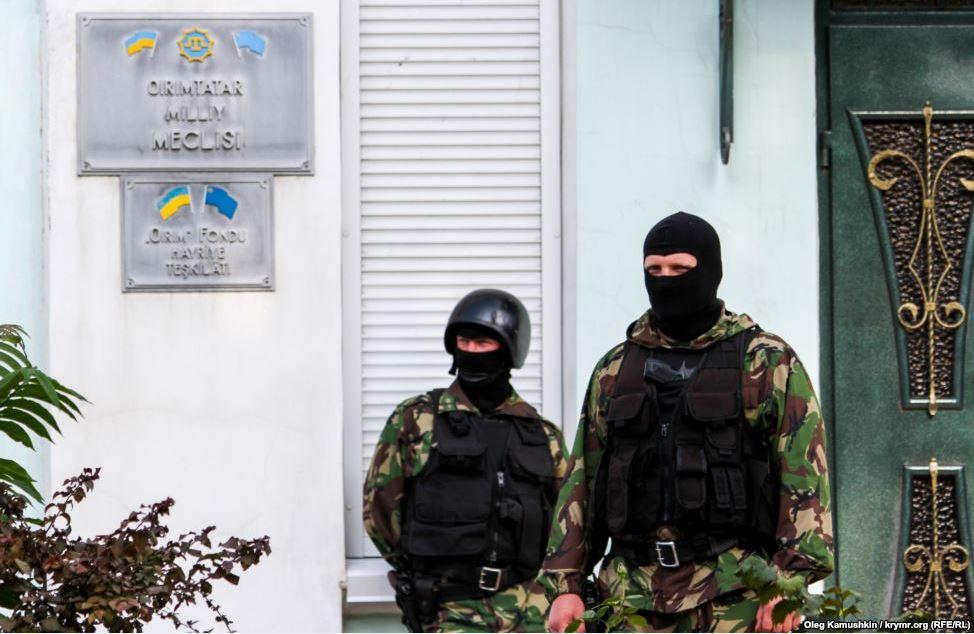 Russia Cracks Down in Crimea, Shuts Tatar Community Offices