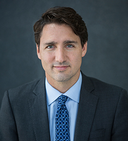 The Right Honourable Justin Trudeau, 2017 Global Citizen Award