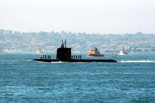 Swedish attack submarine HMS Gotland