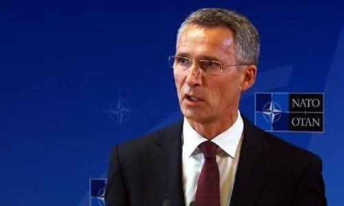 Secretary General Jens Stoltenberg, October 1, 2014