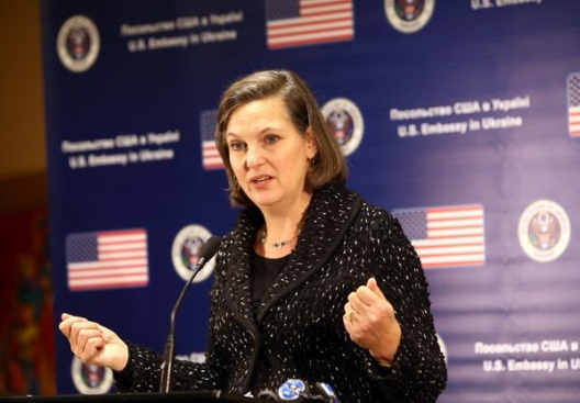 Assistant Secretary of State Victoria Nuland in Kiev, Feb. 7, 2014