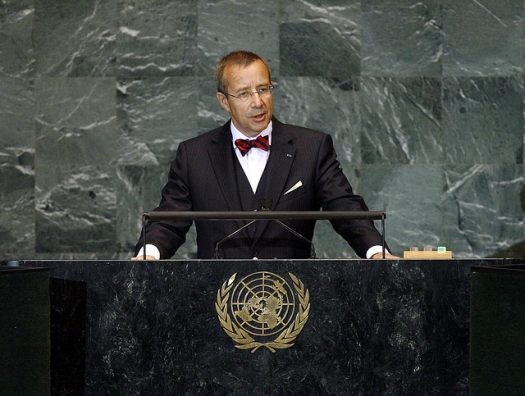 Estonian President Toomas Henrik Ilves, Sept. 25, 2009