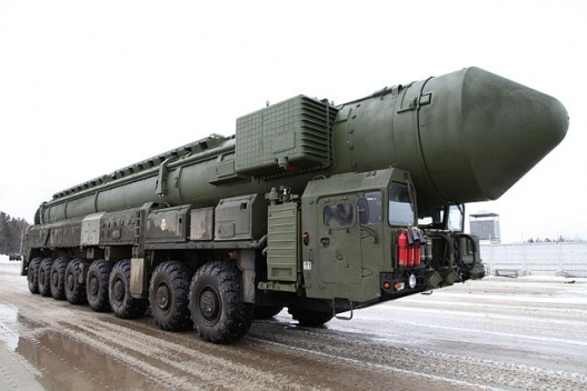Russian Topol-M/SS-27 missile