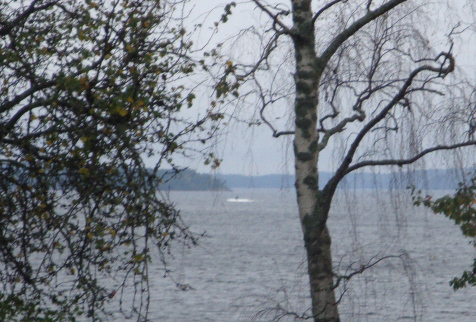 "Photo of suspected ""foreign underwater activity"" near Stockholm"