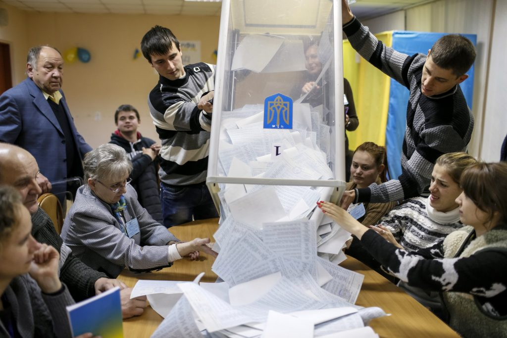 Ukrainians Vote for a European Future and for Reform
