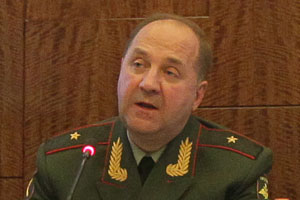 Lt. Gen. Igor Sergun, head of Russia's GRU