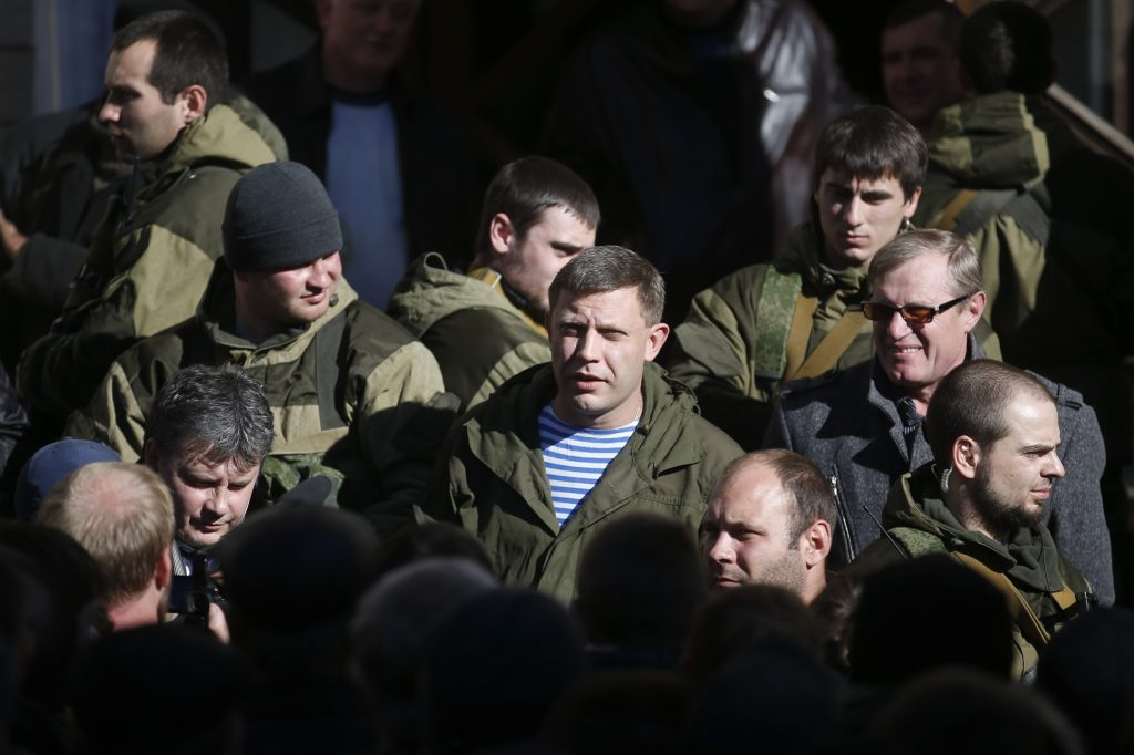Russian-Backed 'People's Republics' in Ukraine Prepare Elections for Sunday