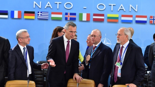 Secretary General Jens Stoltenberg at foreign ministers meeting, December 2, 2014