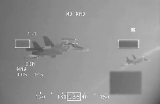 Russian Su-34s intercepted by NATO F-16s, Dec. 8, 2014
