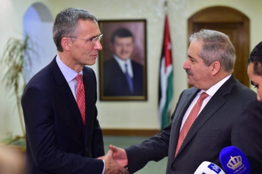 Secretary General Welcomes Jordan's Decision to Join NATO Response Force