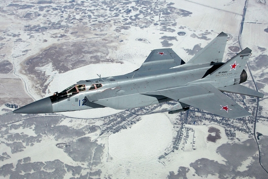 Russian Mig-31, March 31, 2012