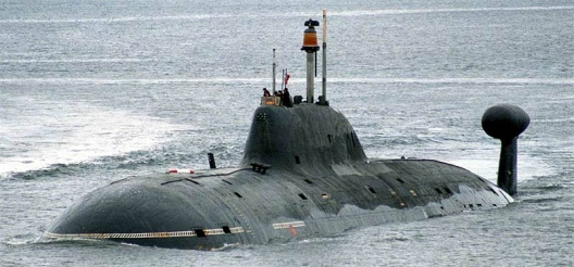 Russian Akula class submarine, June 3, 2008