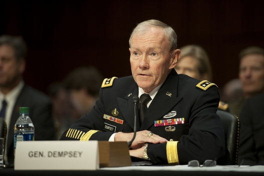 General Martin Dempsey, chairman of the Joint Chiefs of Staff, Nov. 15, 2011
