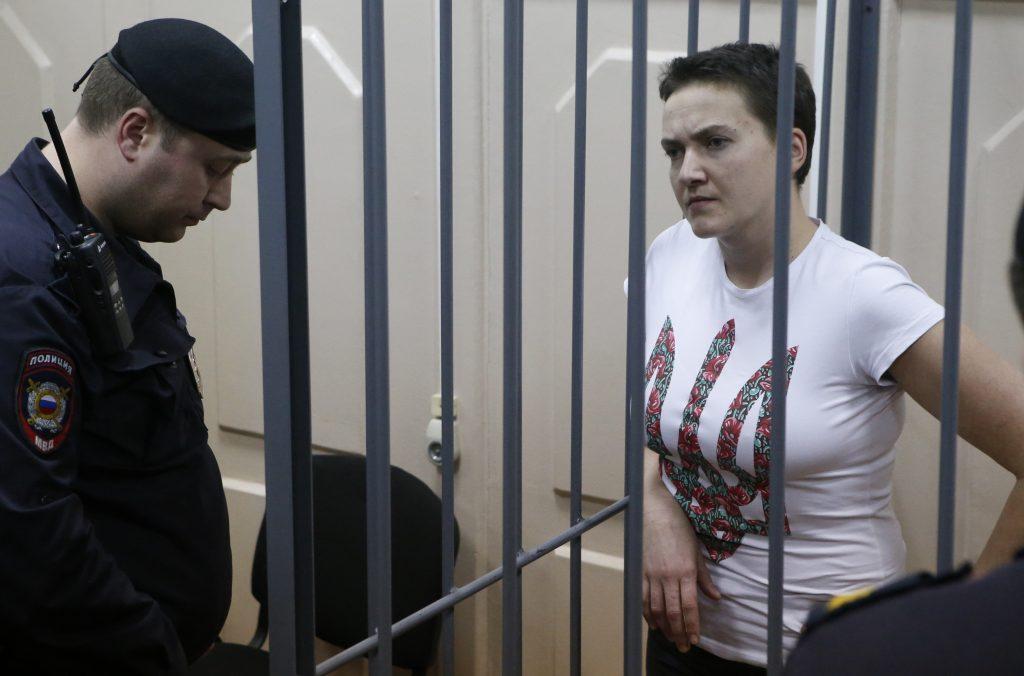 Ukraine's Dignified Warrior: Nadiya Savchenko Confronts the Kremlin