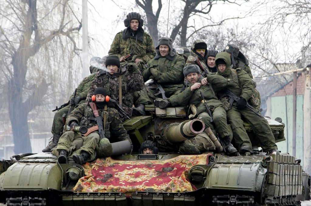 Russian Troops Lead Moscow's Biggest Direct Offensive in Ukraine Since August