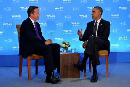 Prime Minister David Cameron and President Barack Obama, Sept. 4, 2014