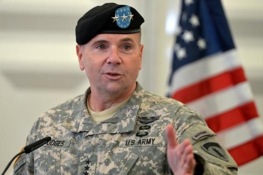 Commander of US Army in Europe, Gen. Ben Hodges, Nov. 5, 2014