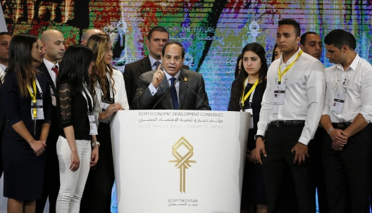 What Was Pledged at Egypt's Investment Conference?