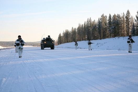 Nordic Battle Group Training in Sweden, Nov. 7, 2007