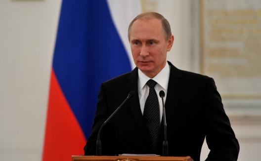 Russian President Vladimir Putin, April 9, 2015