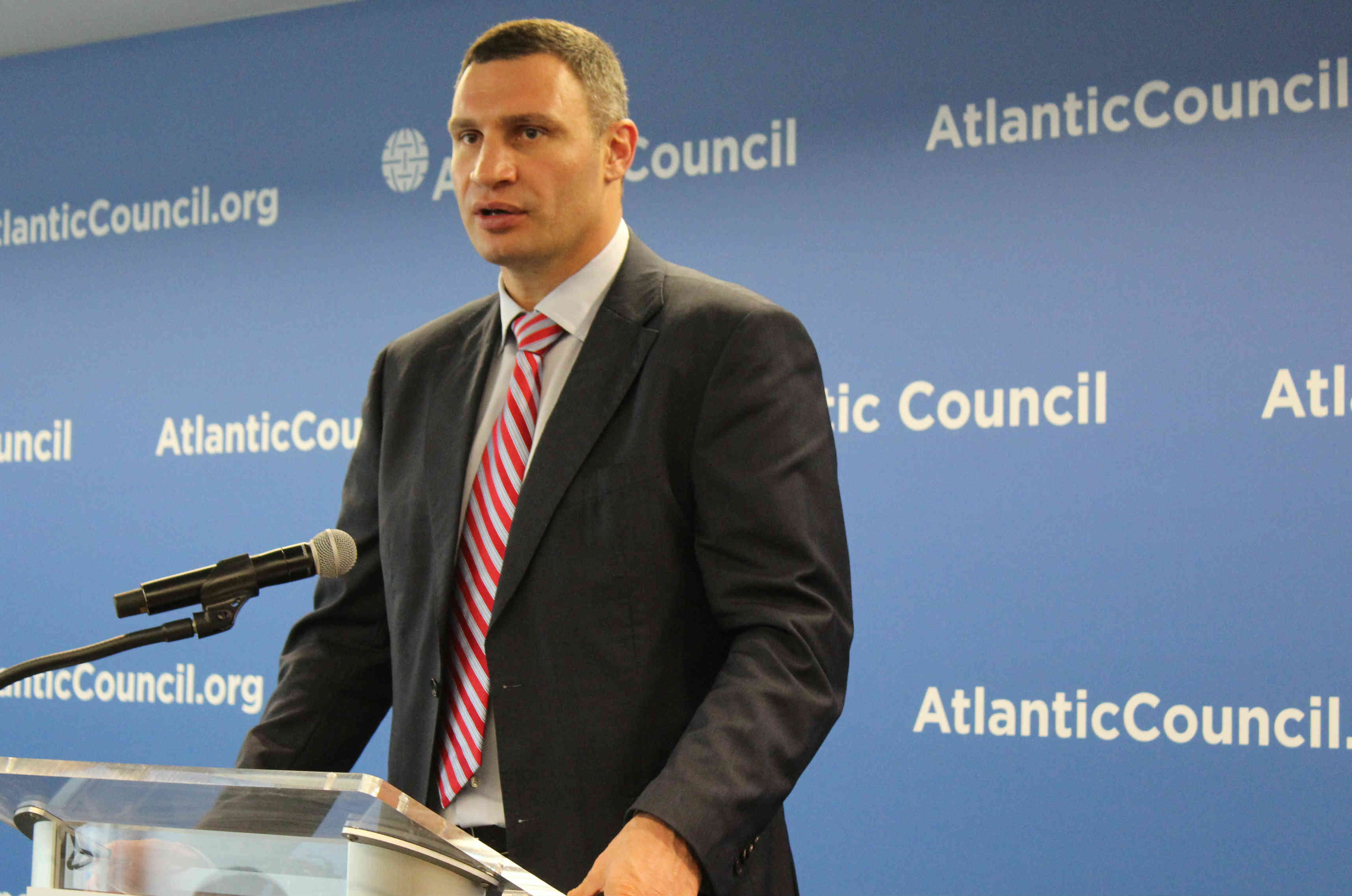 Klitschko: Economic Success Will Unite Country