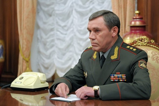 Chief of the Russian General Staff General Valery Gerasimov, Nov. 9, 2012