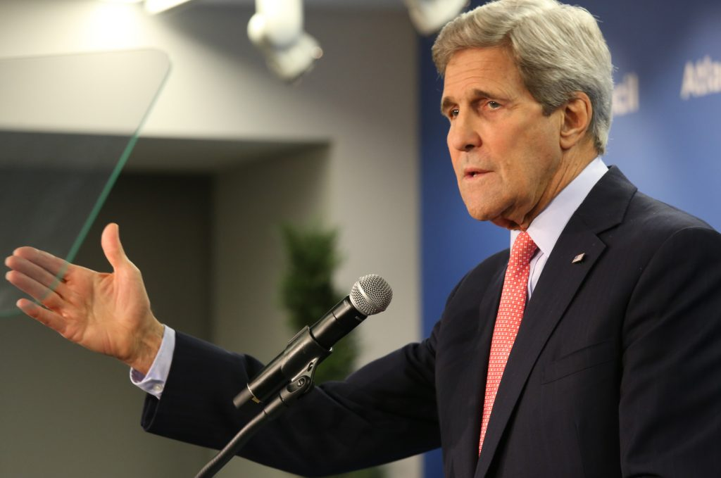 Kerry Goes to Bat for Free Trade