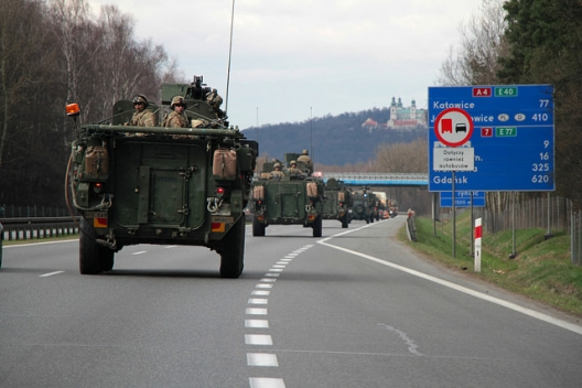 2nd Cavalry soldiers near Krakow, March 26, 2015