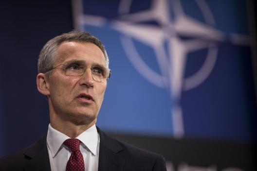 NATO Secretary General Jens Stoltenberg, May 11, 2015